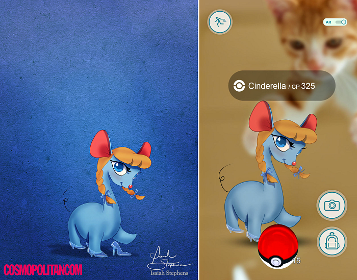 pokemon-disney-cinderela